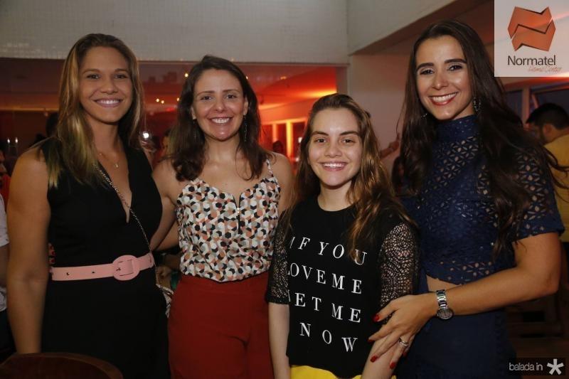 Camila Oliveira, Ana Luiza Cordeiro, Nicole e Vivian Barbosa