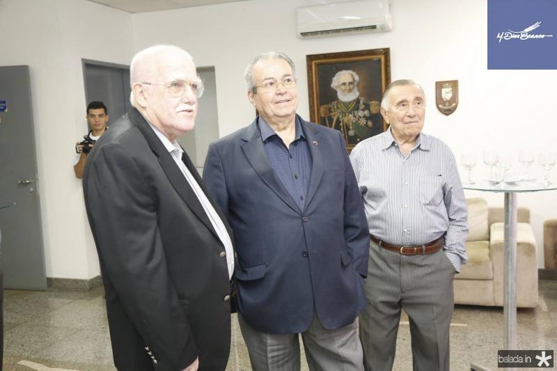 Almirante Oberg, Meton Cesar e Gilberto Rangel