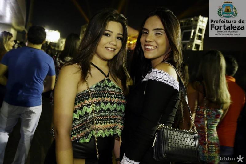 Julia Vilela e Andressa Braz
