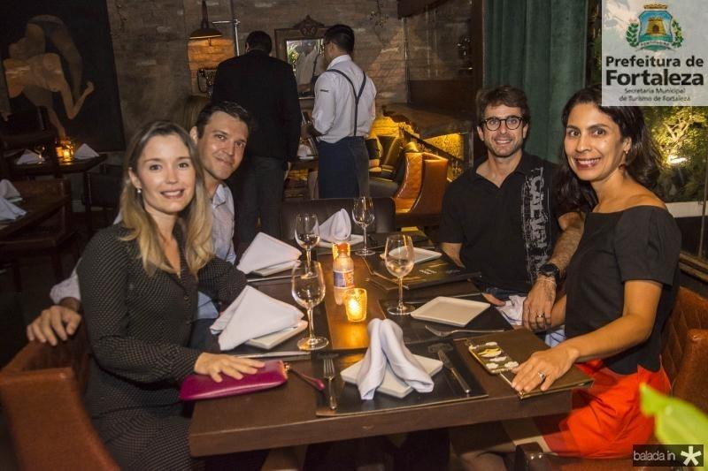 Renata Giaxa, Giuliano Xiana, Fabio Tavora e Iusta Caminha