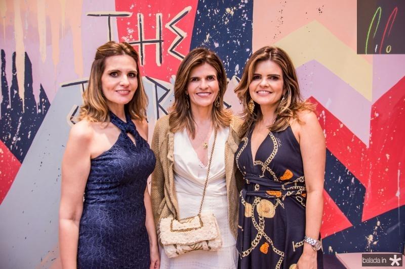 Viviane Goyanna Baima, Luciana Goyanna Campos e Cristine Feitosa