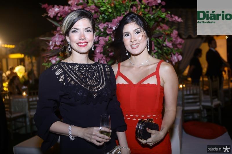 Claudia Macedo e Manuela de Castro