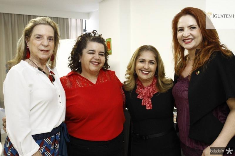 Anya Ribeiro, Clivania Teixeira, Jose Viana e Enid Camara
