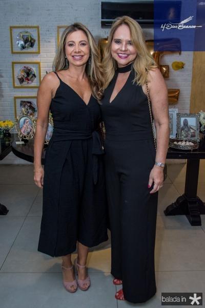 Sandra Machado e Ilda Pamplona