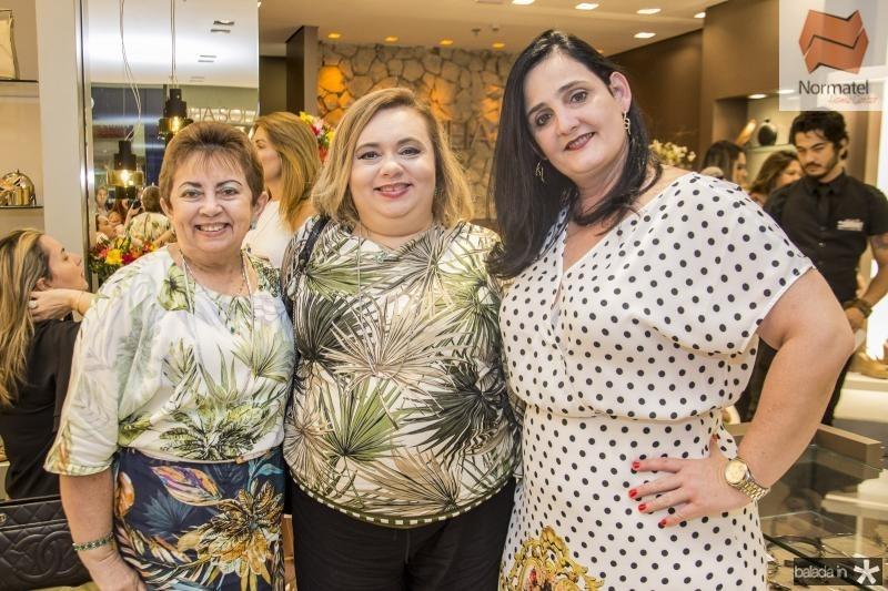Tania Nobre, Sandra Karina e Gabriela Pontes