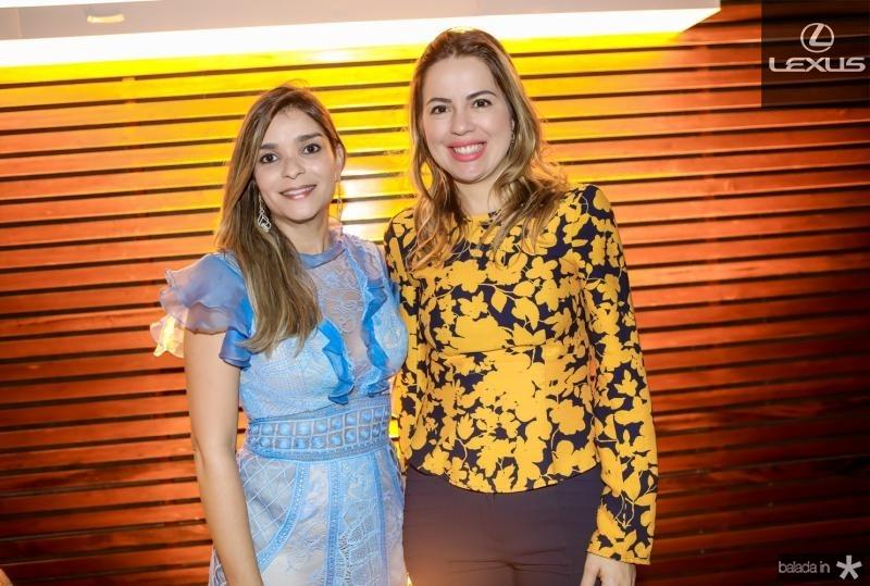 Camila Arraes e Onelia Leite Santana