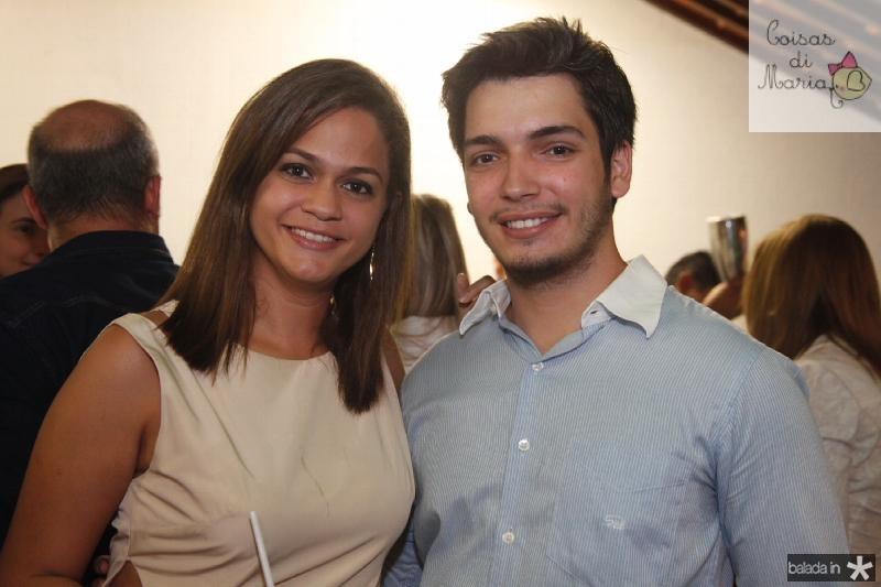Aila Verçosa e Matheus Andreada