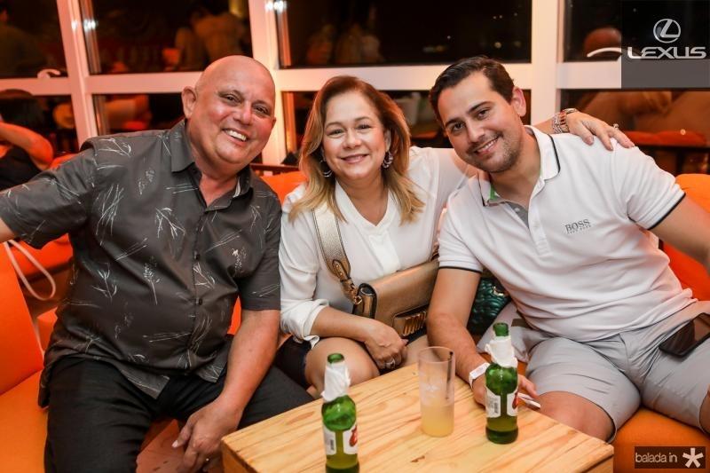 Paulo Silva, Sarah Philomeno e Eduardo Rolim