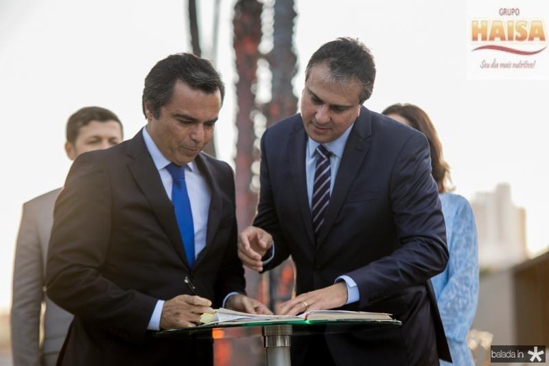 Juvencio Viana e Camilo Santana