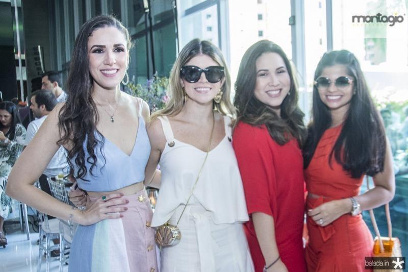 Giuliana Botelho, Bruna Nogueira, Carol Yamazaki e Isabele Temoteo