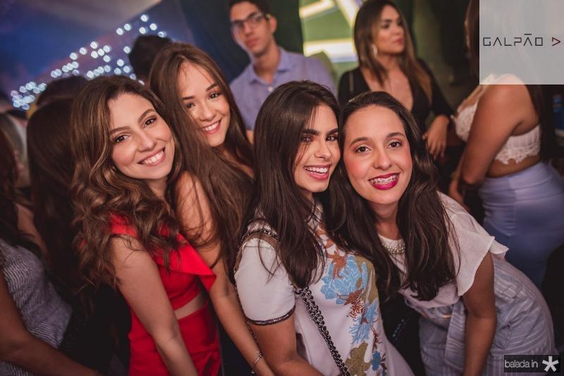 Gabriella Lebre, Eduarda Linhares  Dara Cidade e Taiane Goncalves