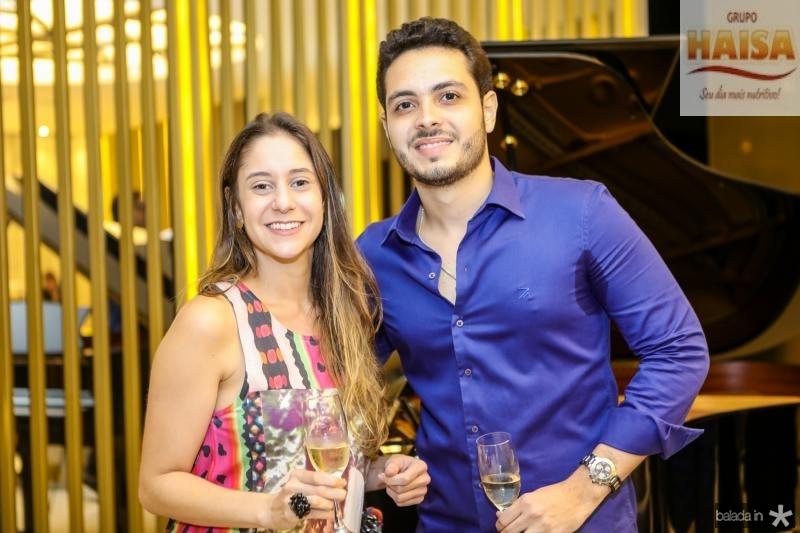 Camila Bezerra e Wagner Neto