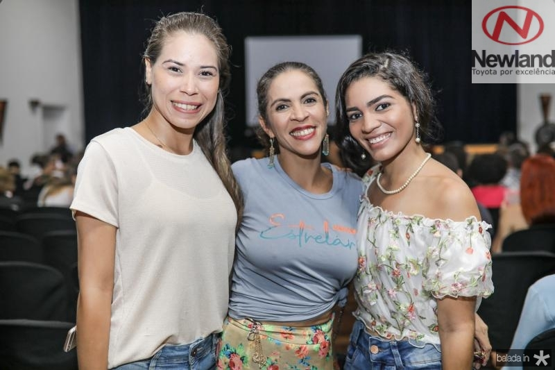 Aline Sousa, Andrea Soares e Monica Amorim