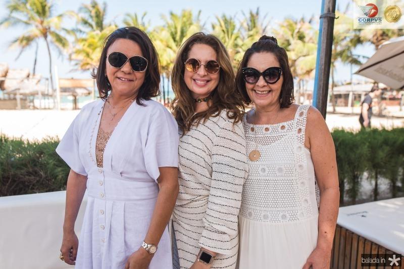 Guiomar Feitosa, Marcia Andrea e Giana Studart