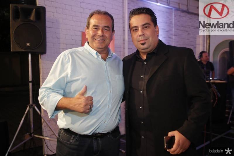 Fabio Ambrosio e Andre Melo