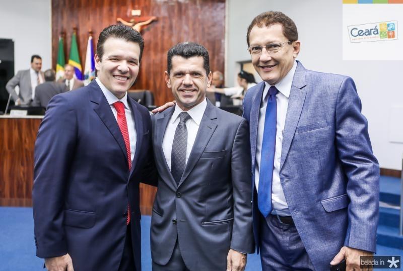 Ferruccio Feitosa, Erick Vasconcelos e Elpidio Nogueira