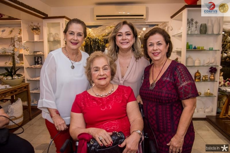 Tida Leal, Beatriz Philomeno, Sarah e Julia Philomeno