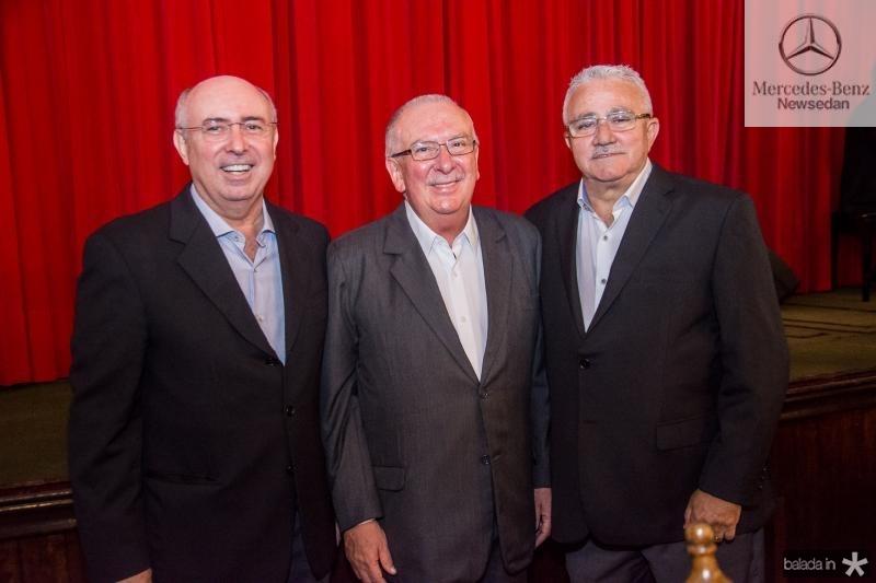 Amarilio Cavalcante, Valmir Pontes e Alcimor Rocha
