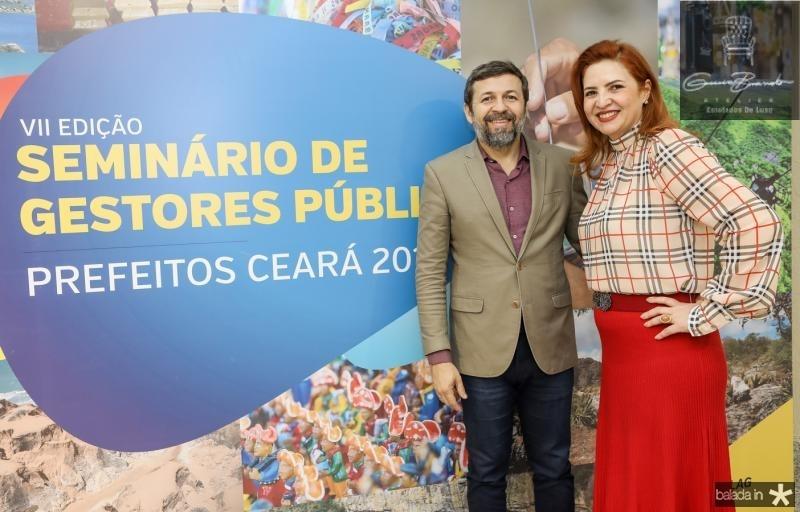 Elcio Batista e Enide Camara