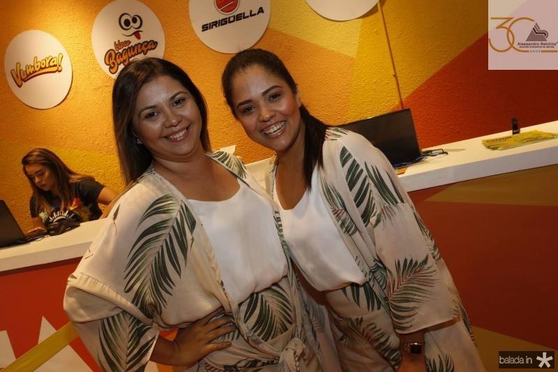 Joyce Santana e Ule Santos