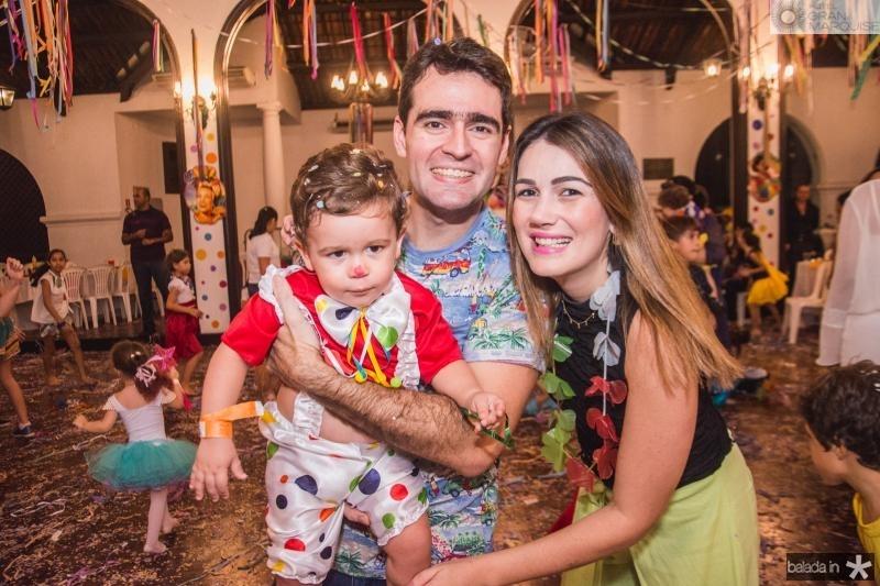 Isac, Arthur filho, Juliana Costa Lima