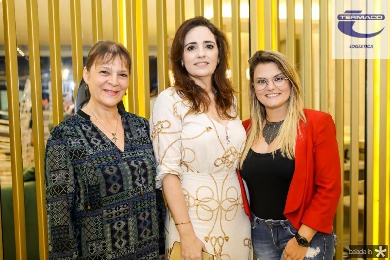 Marli Mendes, Isabela Fontenele e Amanda Fernandes