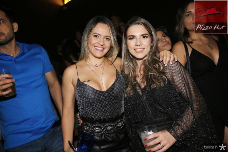 Samantha Lemos e Juliana Bastos