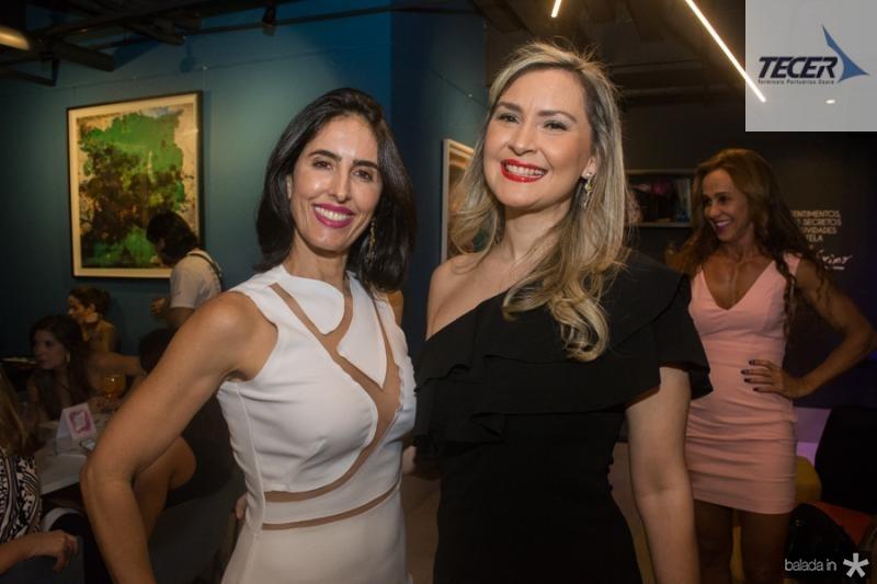 Tarita Beloti e Fabiana Sitanck