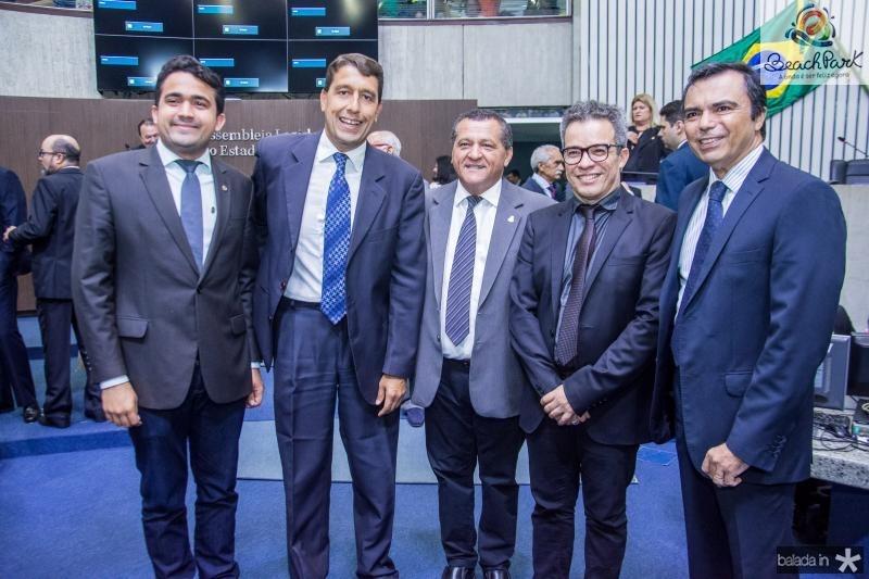Iure Guerra, Gony Arruda, Dede Teixeira, Fabiano Piuba e Juvencio Viana