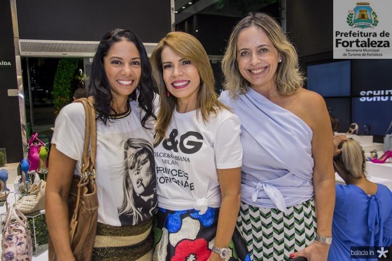Daniele Albuquerque, Maira Silva e  Andrea Fialho