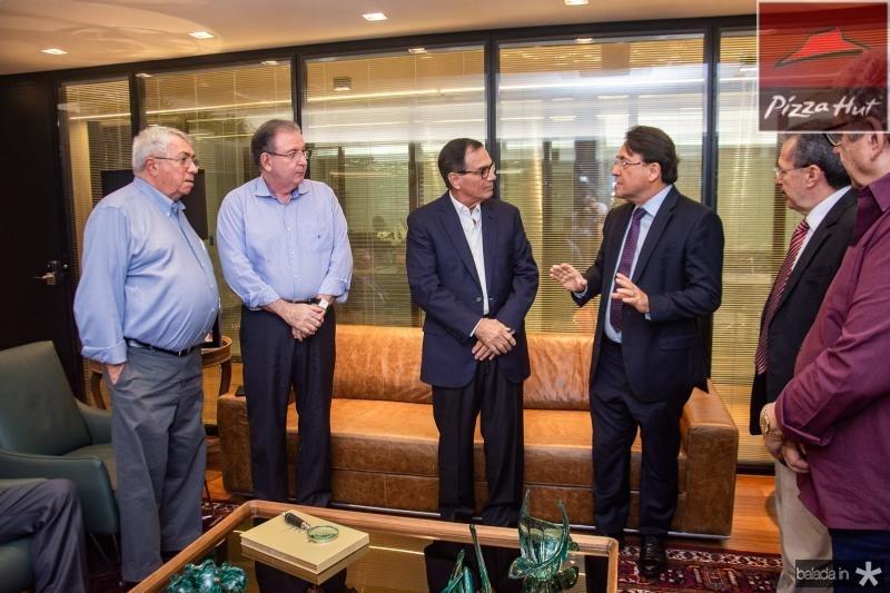 Roberto Macedo, Ricardo Cavalcante, Beto Studart e Joao Borges