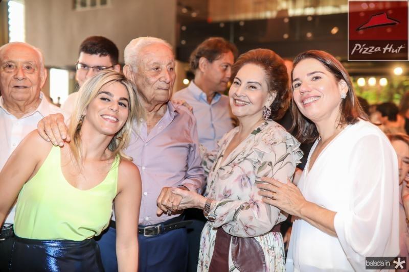 Amanda, Humberto, Norma e Denise Bezerra