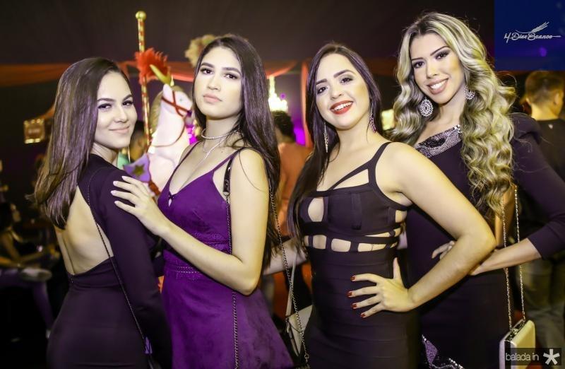 Damares Lima, Andressa Oliveira, Mirela Urbano e  Debora Teixeira