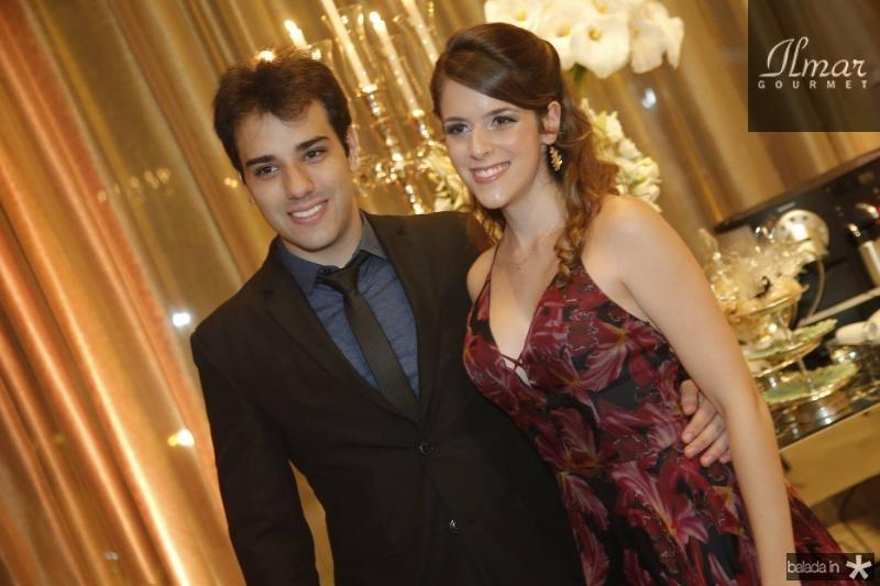 Marcilio Rocha e Jessica de Luca