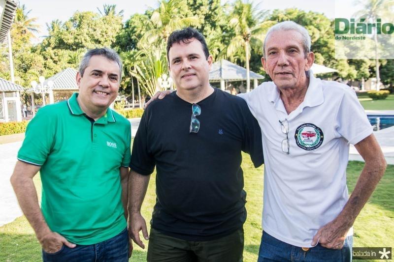 Expetido Junior, Marcos Camelo e Mauricio Mamau