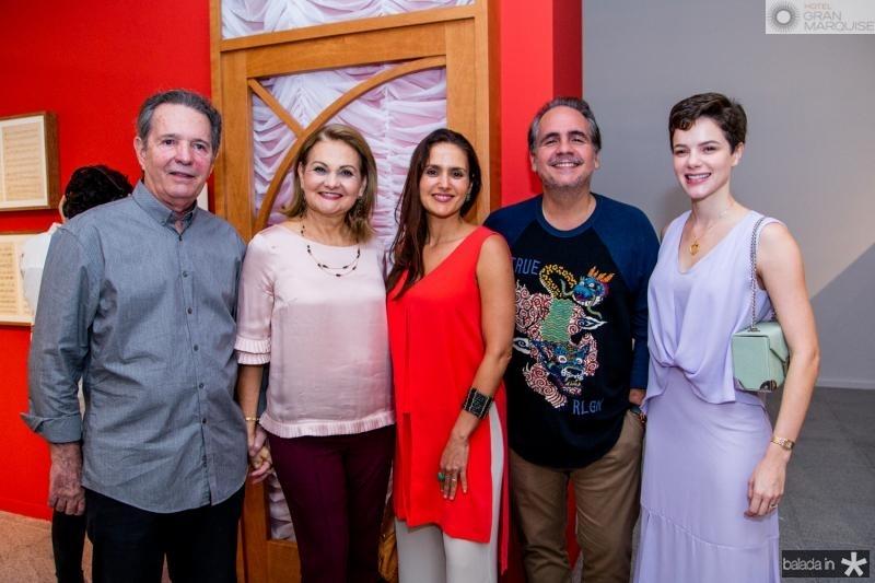 Cláudio e Lenize Rocha, Manuela e Ricardo Barclelar e Paula Sampaio