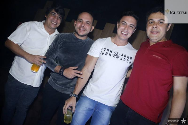 Rodrigo Vieira, Daniel Meireles, Flavinho e Gustavo Cruz