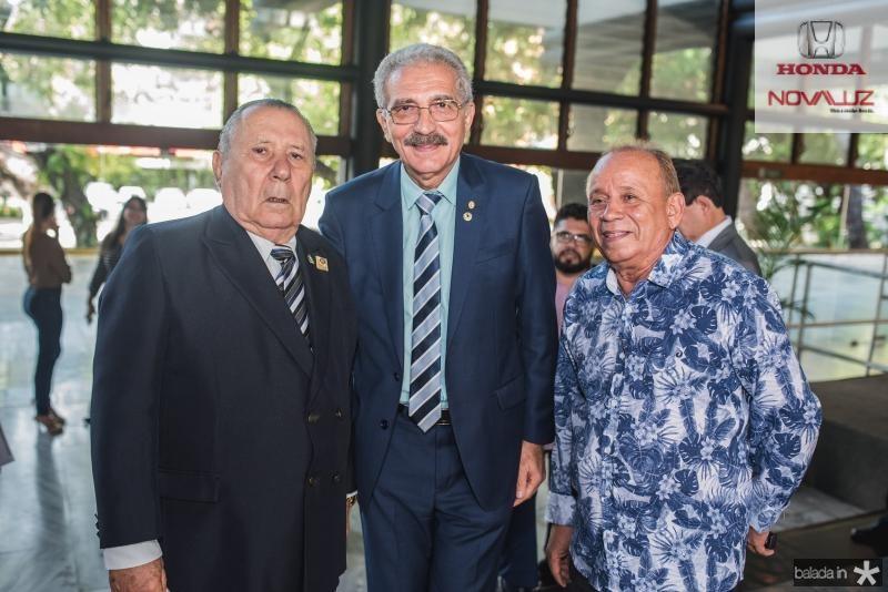 Idalmir Feitosa, Walter Cavalcante e Rolker Gomes