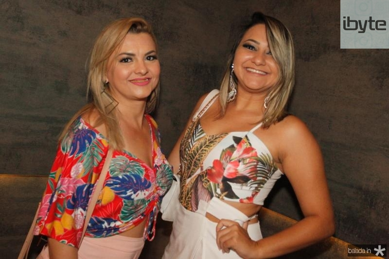 Darcilene Lopes e Ana Gabriela
