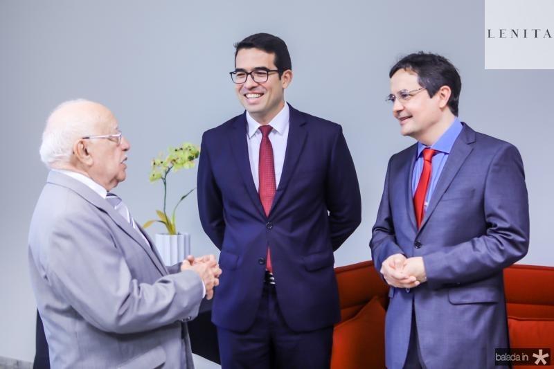 Ubiratan Aguiar, Rholden Botelho e Edilberto Pontes