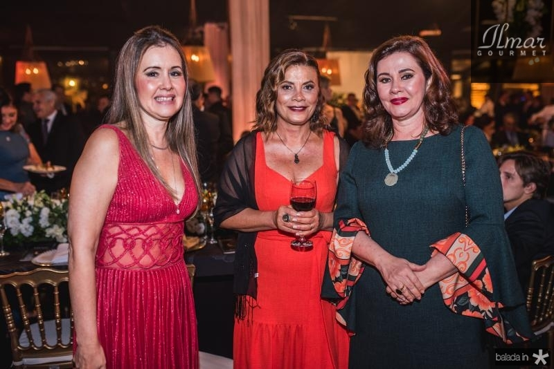 Liana Fujita, Beth Granja e Antonieta Caracas