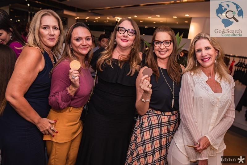 Marcia Teixeira, Olga Costa, Luiziane Cavalcante, Marcia Andrea e Marjorie Marshall