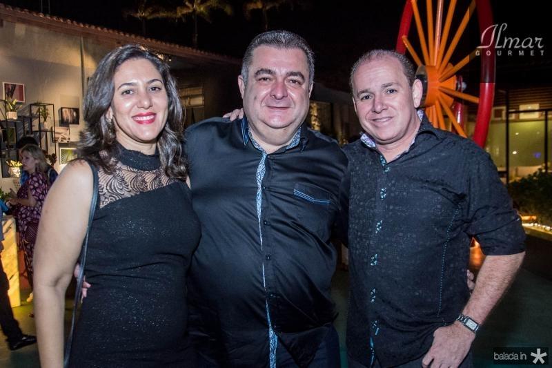 Artemis Vasconcelos, Francisco Vasconcelos e Ricardo Bezerra