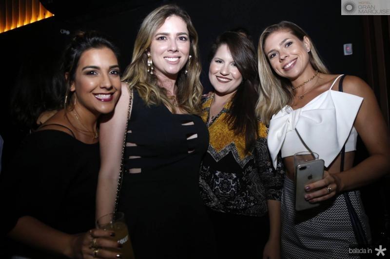 Maria Teresa, Renata Porto, Priscila Macedo e Marina Valentim