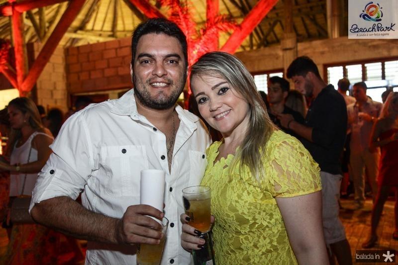 Almir Pedreira e Delara Cavalcante