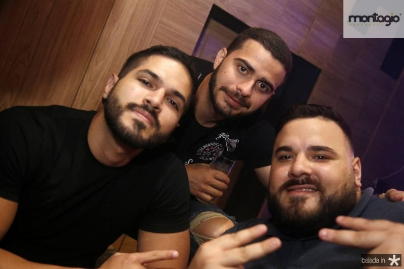 Savio Machado, Davi Fernandes e Lucas Coelho