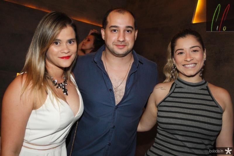 Patricia Castyro, Ribeiro Camara e Lia Dias