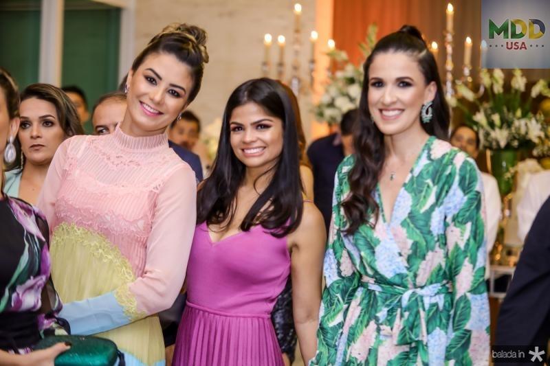 Mariana Pimenta, Isabele Temoteo e Giuliana Botelho