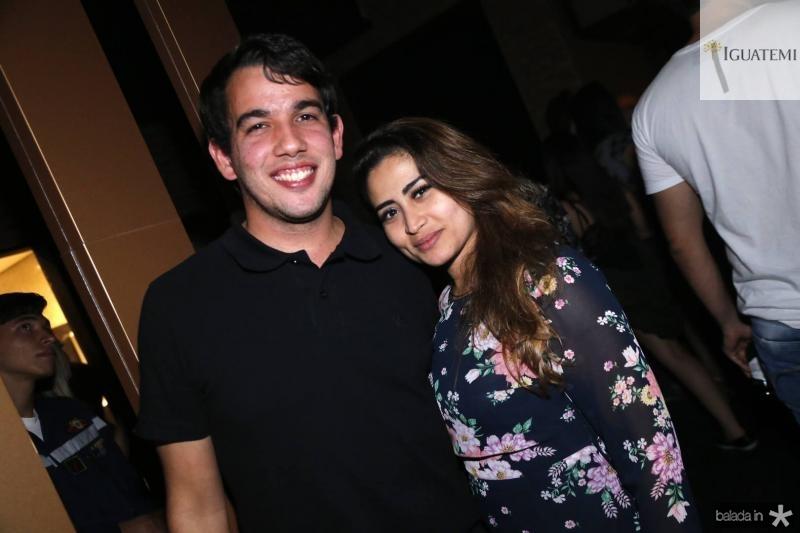 Gabriel Ribeiro e Carmen Frota