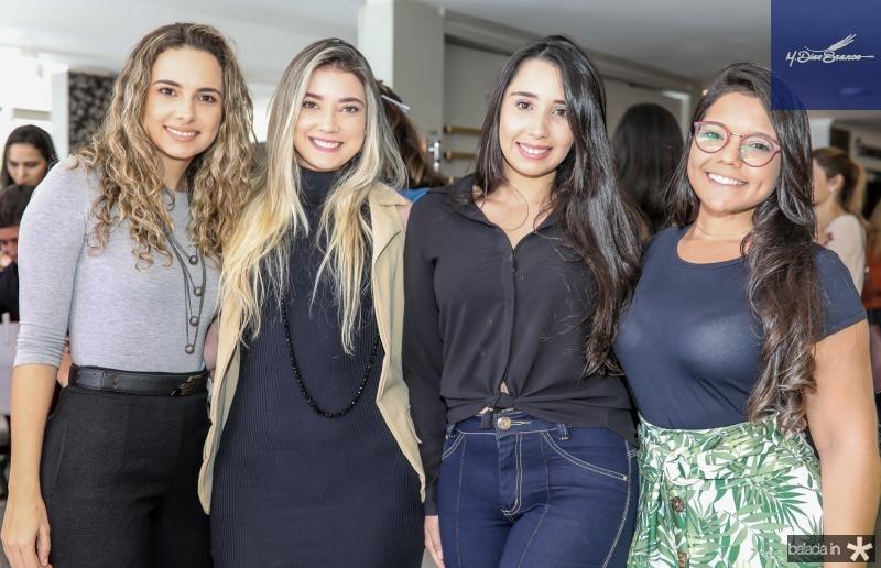 Mayara Viana, Raissa Capibaribe, Thayna Guastucci e Maria Dias